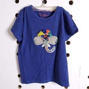 NEW Mini Boden Starboard Blue Elephant Shirt